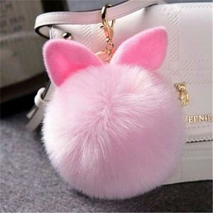 Accessories - bunny ear keychain